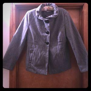 Old Navy Wool Blend Pea Coat